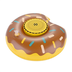Celly Pool Speaker Donuts Κίτρινο