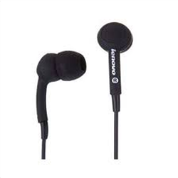 Lenovo in ear headset P165 Μαύρο