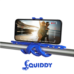 Celly Squiddy Flexible Mini Tripod Μπλε