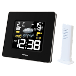 Sencor Weather Station Βlack SWS 270