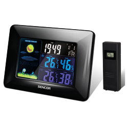 Sencor Weather Station Black SWS 4250