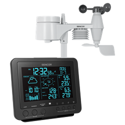 Sencor Professional Weather Station Black SWS 9700