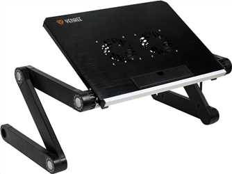 Yenkee Cooling Table/Stand for Notebook up to 17'' Black YSN 210