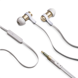 Celly Stereo Handsfree 3.5 mm Gold