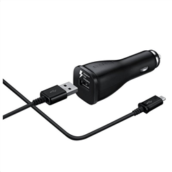 Samsung Car Adapter Type-C Cable Included Black