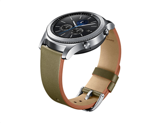 Samsung Classic Leather Band Gear S3 Olive Green