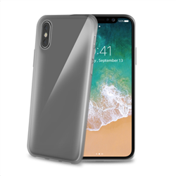 Celly Case Gelskin iPhone X/XS Μαύρο