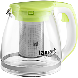 Lamart LT7026 Electric Glass Tea Kettle Verre Series