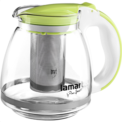 Lamart LT7028 Electric Glass Tea Kettle Verre Series