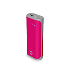 Celly Powerbank Daily 5000mAh Pink