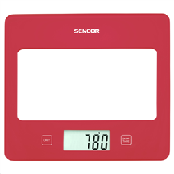 Sencor SKS 5024RD Red Kitchen Scale