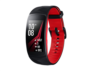 Samsung Gear Fit 2 Pro Red Small Strap