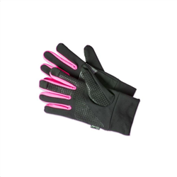 Celly Sport Touch Gloves Pink