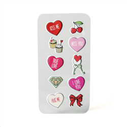 Celly Sticker Teen Hearts