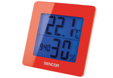 Sencor Thermometer with Alarm Clock SWS 1500RD
