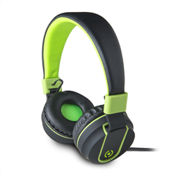 Celly Color Stereo Headphone Green