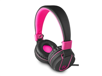 Celly Color Stereo Headphone Pink