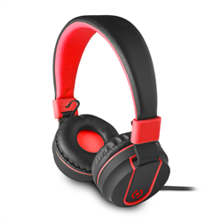 Celly Color Stereo Headphone Red