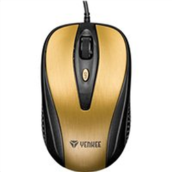 Yenkee Optical Mouse QUITO Gold YMS 1025GD