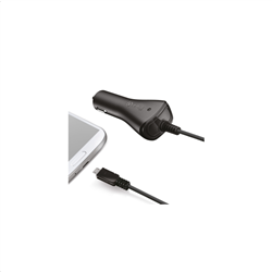 Celly Car Charger Micro USB 1A Black