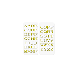 Celly Sticker Letter Gold