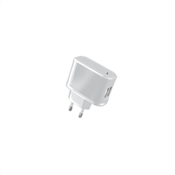 Celly Travel Charger 2 USB 2.1A White