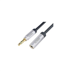 Yenkee Audio Aux Stereo Cable 2m (3.5mm) / Female to Male YCA 222 BSR