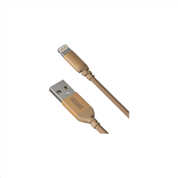 Yenkee Data Cable Usb/Lightning Usb 1m Gold YCU 611 GD