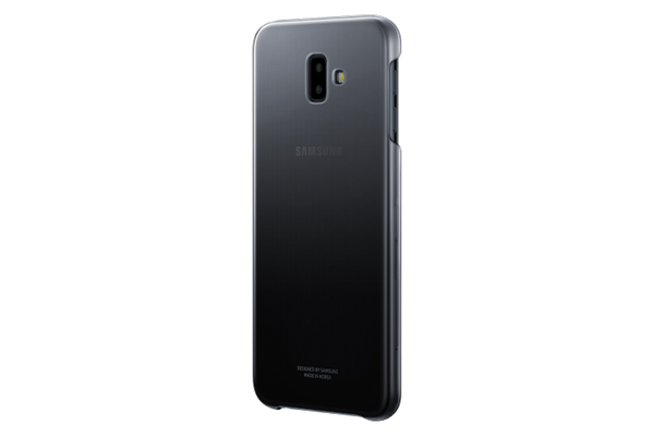 Samsung Gradation Cover Galaxy J6+ Μαύρο