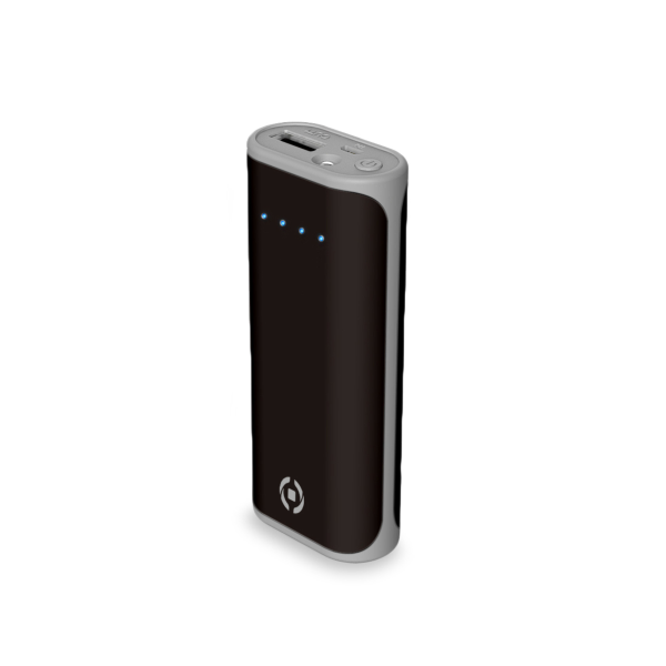 Celly Powerbank Daily 5000mAh Black