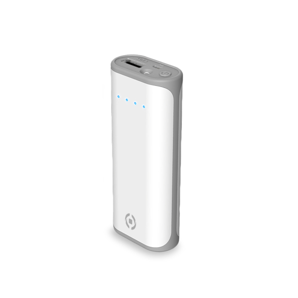 Celly Powerbank Daily 5000mAh White